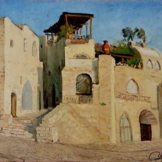 Old Jaffa's buildings