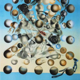 Salvador Dali Galatee aux spheres