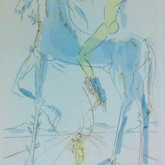 Mistress is beautiful by Salvador Dali